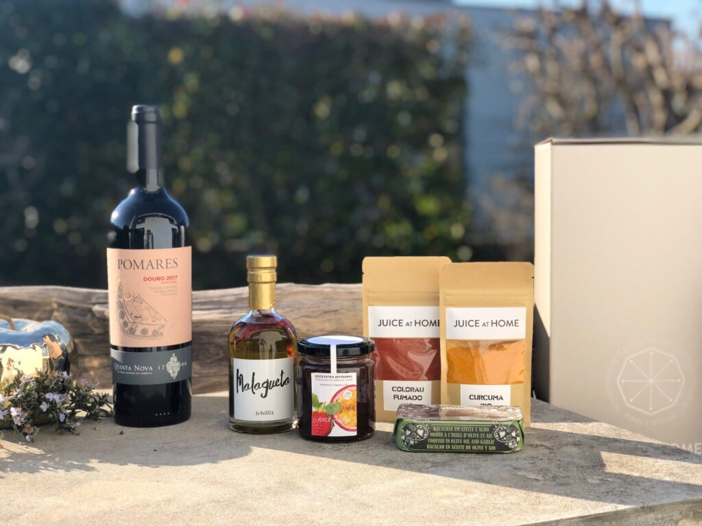 cabazes gourmet personalizados e luxuosos juice at home
