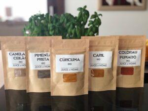 condimentos biologicos mestres artesanais Juice at Home